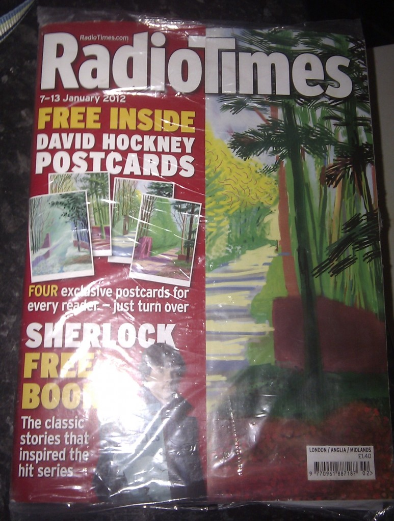 The Radio Times magazine for 7-13 January 2012